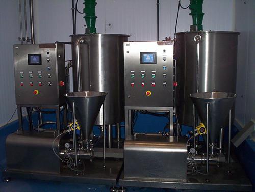 Instalaciones completas de mezcla para soluciones globales de procesos de mezcla