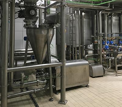 Agitadores industriales para la industria alimentaria