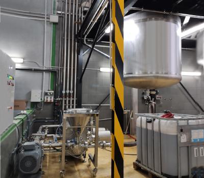 Agitadores industriales para la industria química